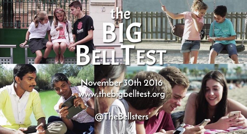El regina participa a l'experiment mundial The Big Bell Test.